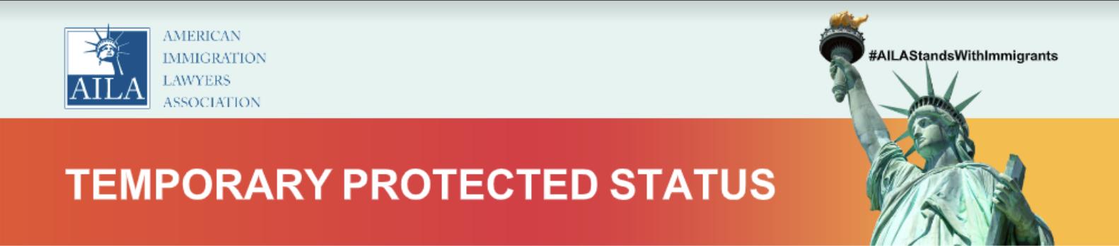 AILA Temporary Protected Status Heading